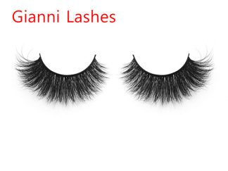 3D43GN 3D Mink Eyelash Custom Lash Box