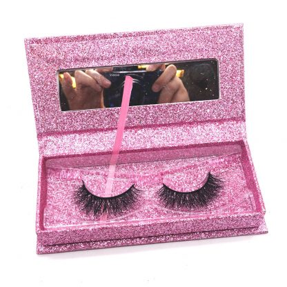 Wholesale Mink Eyelashes Box Factory