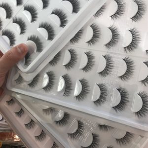 Professional Human Hair Eyelashes