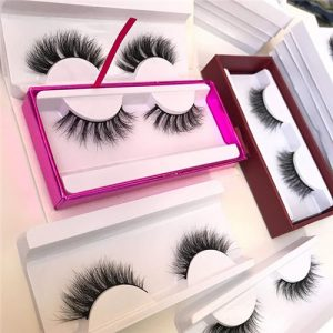 Custom Printed Boxes Human Hair Lashes