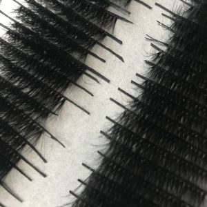 100 human hair eyelashes