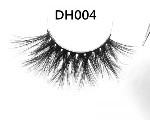 25mm Mink Lashes 25mm Siberian Mink Strip Lashes