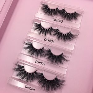 create your own eyelash packaging box custom lash cases