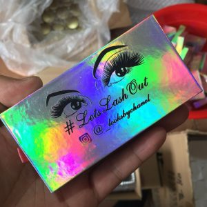 Custom Eyelash Packaging Box Wholesale