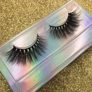 wholesale custom eyelash packaging box diy eyelash packaging
