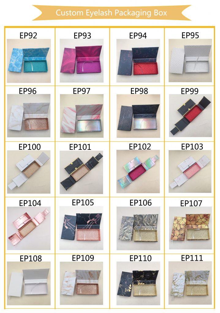 Best Popular Custome Eyelash Packaging - GIANNI LASHES